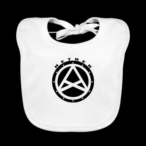 Nether Crew Black\White SnapBack - Bavaglino ecologico per neonato