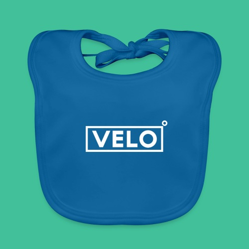 Velo Icon - Red Clr - Baby Organic Bib