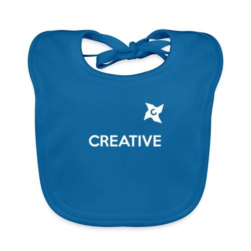 Creative simple black and white shirt - Hagesmække af økologisk bomuld