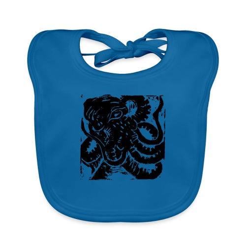 Museum Collection Octopus - Baby Organic Bib