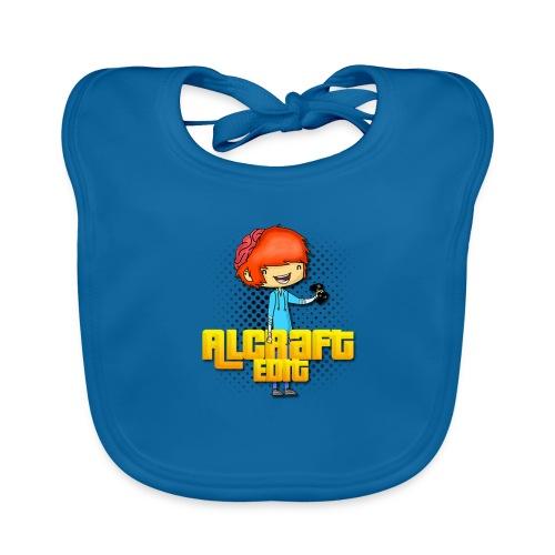Diseño Simple AlCraft Edit - Babero de algodón orgánico para bebés