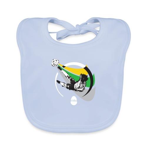 Ninho Over Footbal - Bavaglino ecologico per neonato