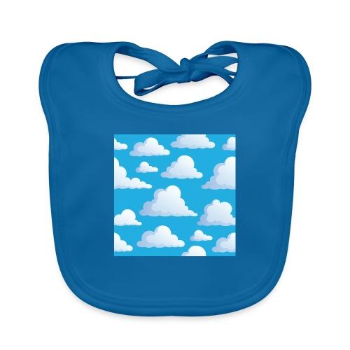 Cartoon_Clouds - Organic Baby Bibs