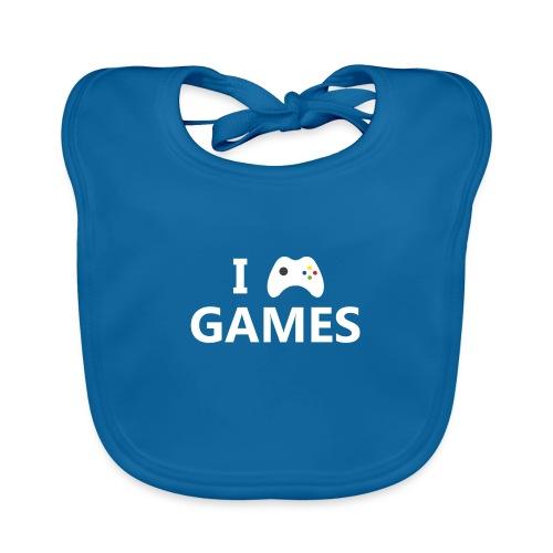 I Love Games 2 - Babero ecológico bebé