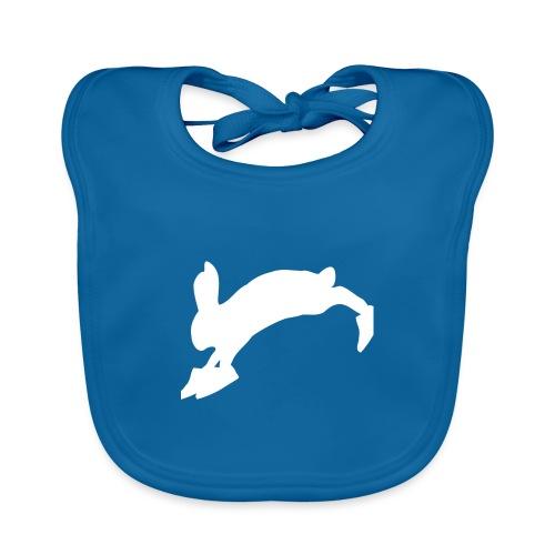 Bunny_Logo - Baby økologisk hagesmæk