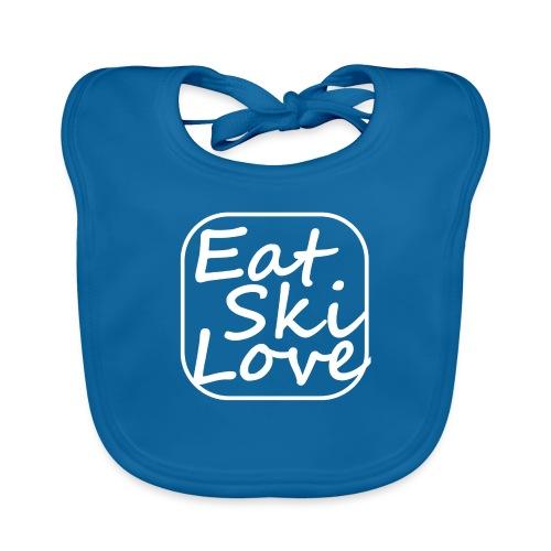 eat ski love - Baby Organic Bib