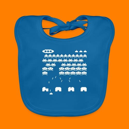 space invaders - Organic Baby Bibs