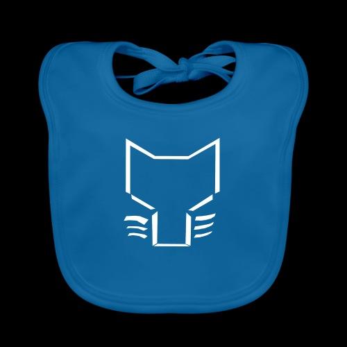 WGDK Logo Børn Hvid - Hagesmække af økologisk bomuld
