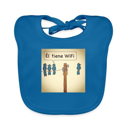 WIFI - Babero de algodón orgánico para bebés