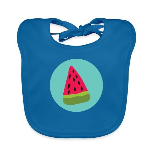 Watermelon - Bavaglino ecologico per neonato