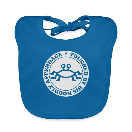Touched by His Noodly Appendage - Baby Organic Bib