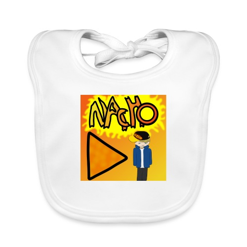 Nacho Title with Little guy - Baby Organic Bib