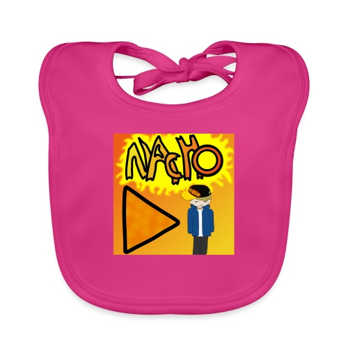 Nacho Title with Little guy - Baby Organic Bib
