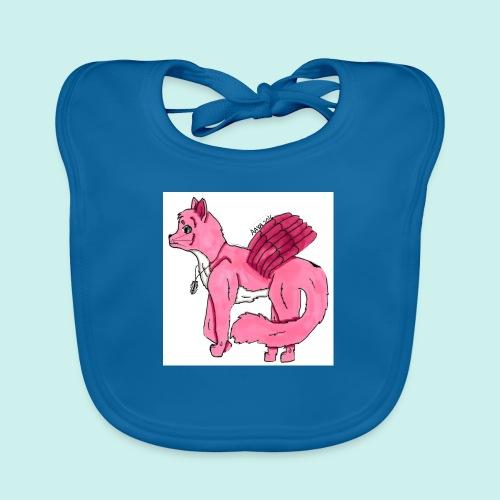 pink_cat - Vauvan luomuruokalappu