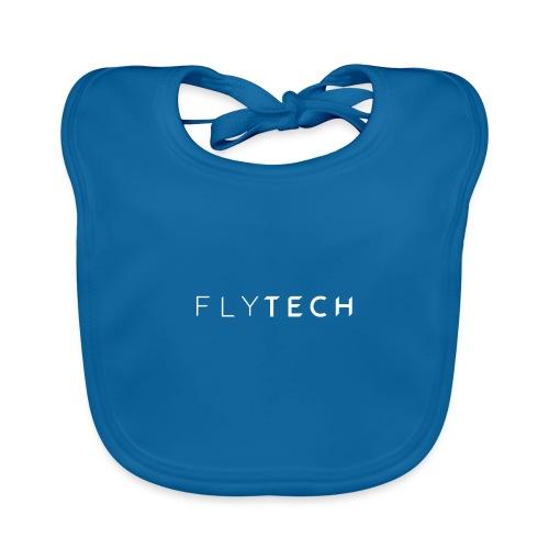 FLYTECH Official Logo black edition est.2017 - Bio-slabbetje voor baby's