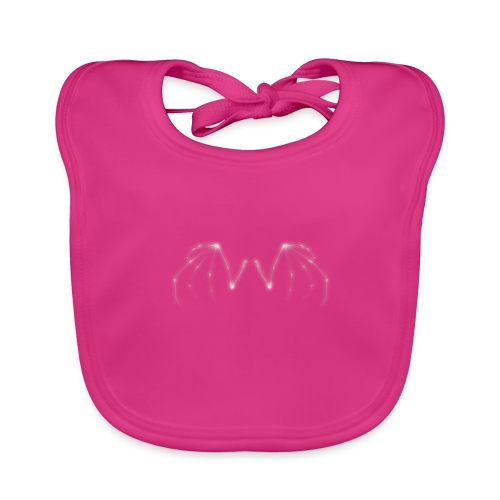 Skeleton Wings - Baby Organic Bib