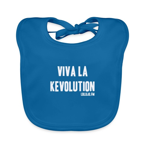 Viva La Kevolution T-Shirt - Baby Organic Bib