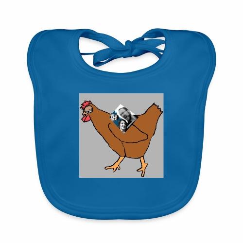 Triumvirate Chicken Logo - Organic Baby Bibs