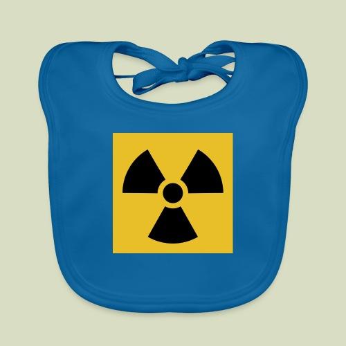 Radiation warning - Vauvan luomuruokalappu
