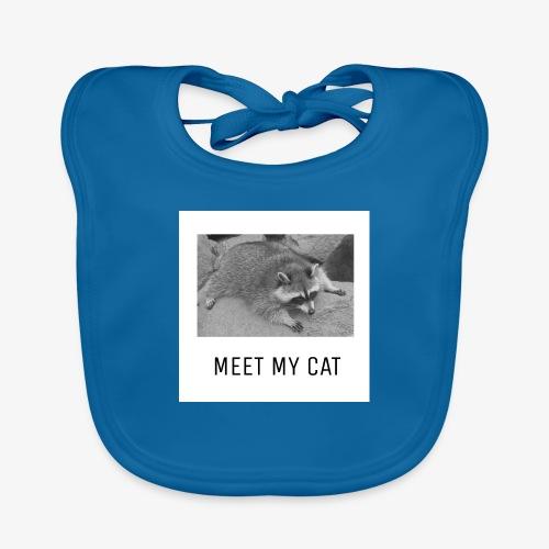 Meet My Cat - Vauvan luomuruokalappu