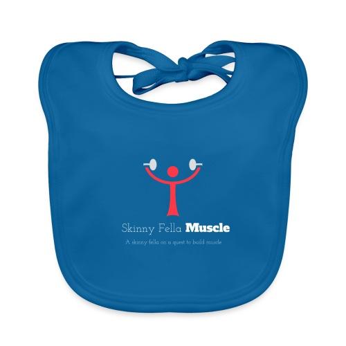 Logo T-Shirt - Navy - Organic Baby Bibs