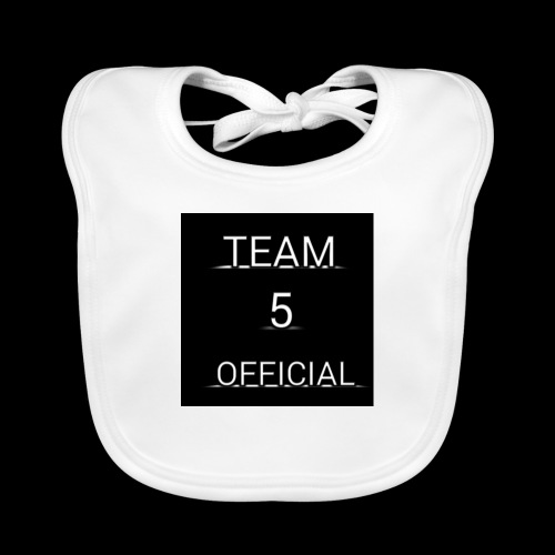 Team5 official 1st merchendise - Baby Organic Bib