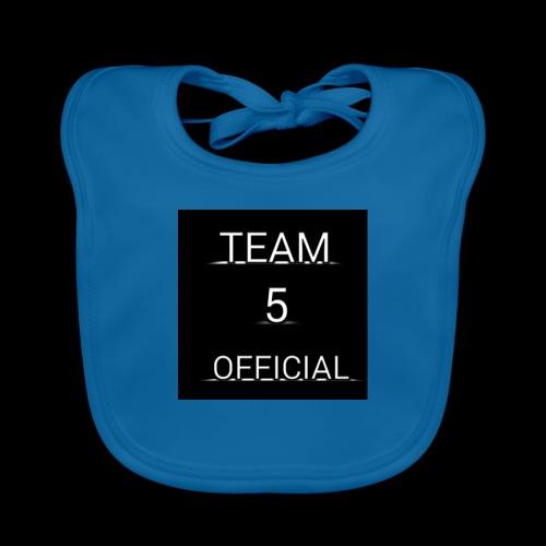 Team5 official 1st merchendise - Organic Baby Bibs