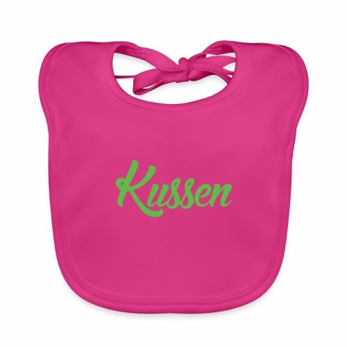 Kussen.website kussensloop groen - Bio-slabbetje voor baby's