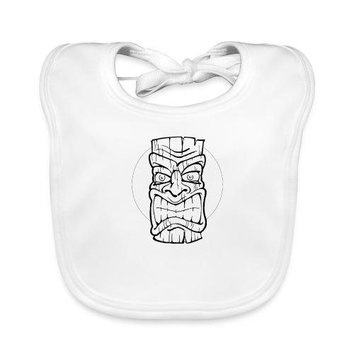 Tiki Maske Tiki Mask - Baby Bio-Lätzchen