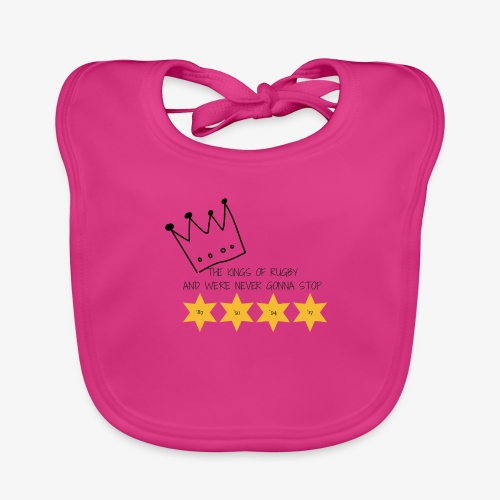 The Kings of Rugby (Kids) - Baby Organic Bib