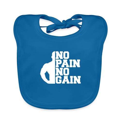 no pain no gain - Bavoir bio Bébé