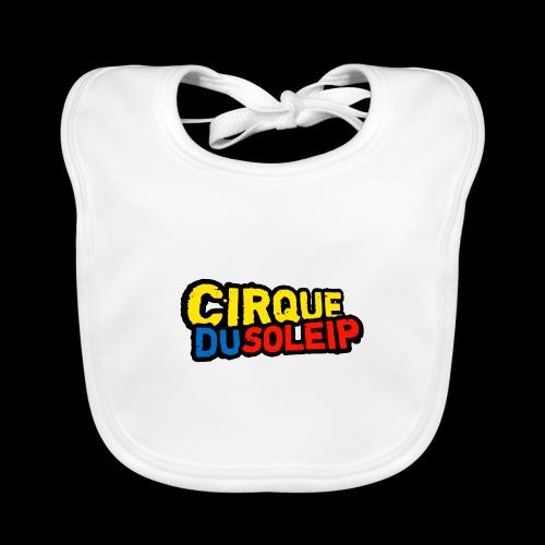 Cirque Du Soleip Letters - Bio-slabbetje voor baby's