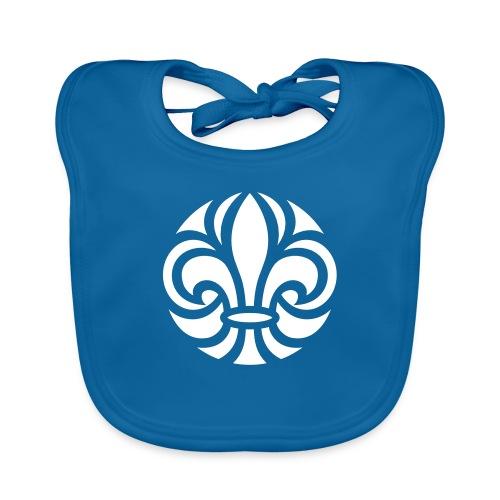 Scouterna-symbol_white - Ekologisk babyhaklapp