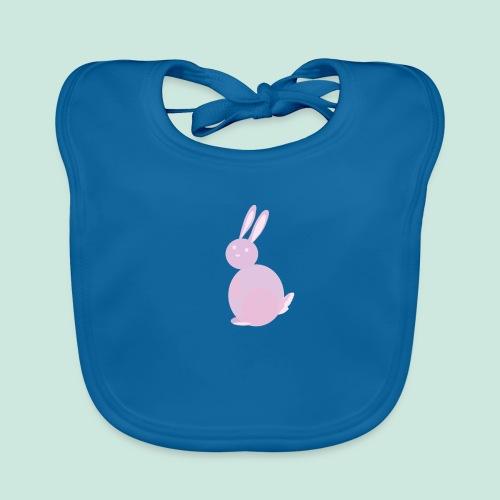 Pink Bunny - Baby Organic Bib