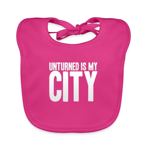 Unturned is my city - Baby Organic Bib