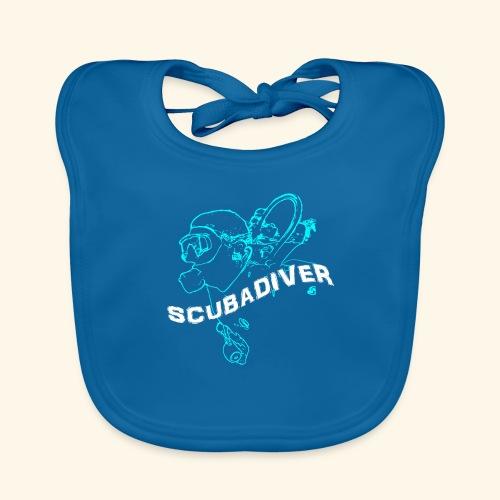 ScubaDiverShirt001 - Bio-slabbetje voor baby's
