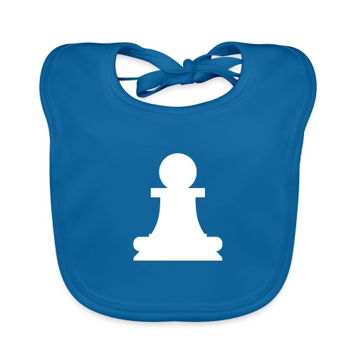 The white pawn - Baby Organic Bib