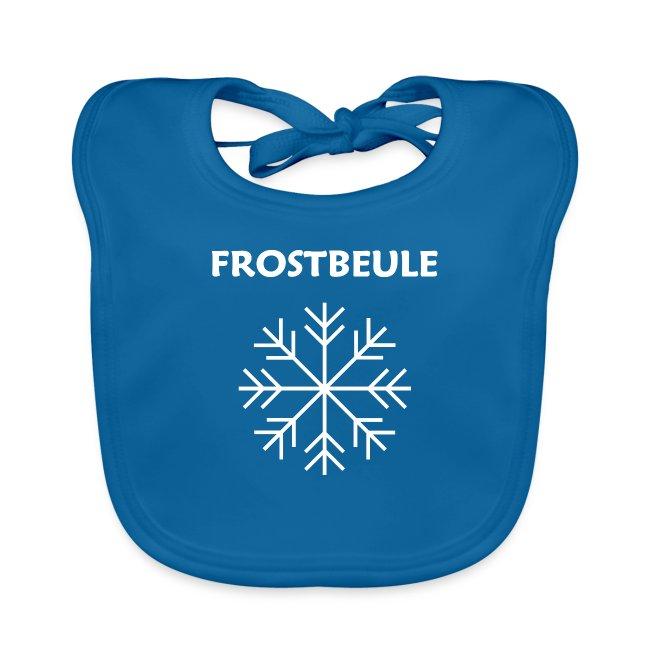 Schneeflocke mit Schriftzug (Frostbeule)