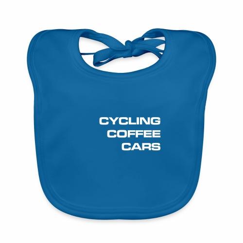 Cycling Cars & Coffee - Organic Baby Bibs