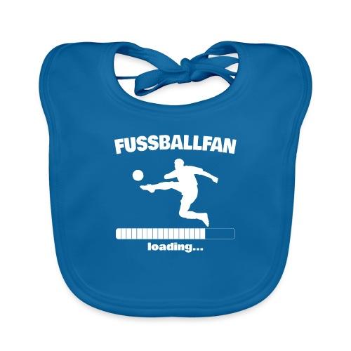 Fussballfan loading... Baby Motiv - Baby Bio-Lätzchen