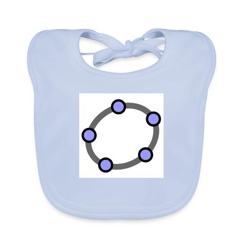 GeoGebra Ellipse - Baby Organic Bib