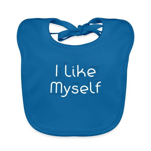 I Like Myself - Bavaglino ecologico per neonato