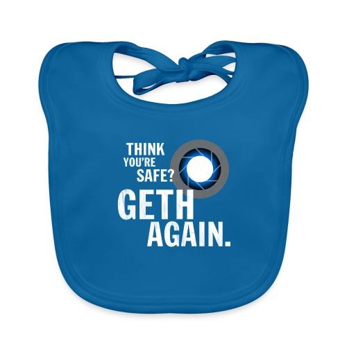 Geth Again Design - Baby Organic Bib