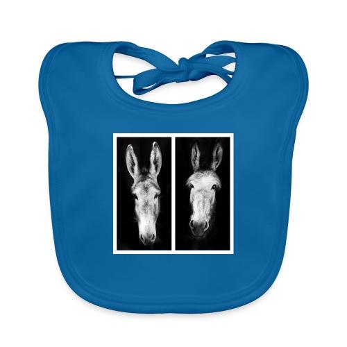 Eselköpfe-Esel - Baby Bio-Lätzchen