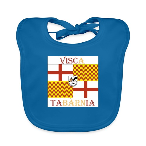 Bandera Visc a Tabarnia - Babero ecológico bebé