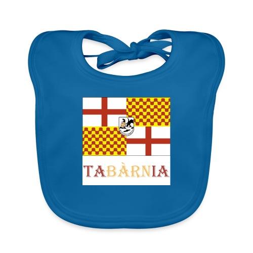 Bandera Tabarnia con escudo y nombre - Babero ecológico bebé