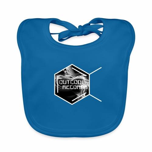 Outcode Records - Babero de algodón orgánico para bebés