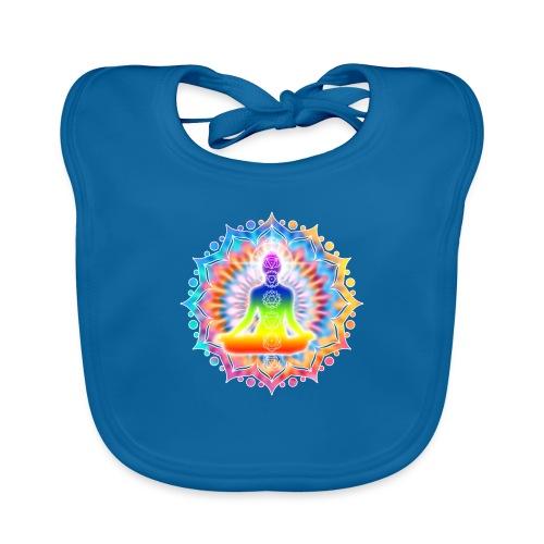 Yoga Lotus Chakra Meditation I - Baby Bio-Lätzchen