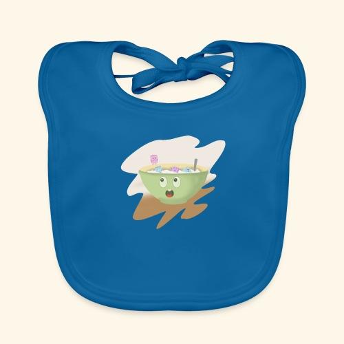 Milk party - Babero de algodón orgánico para bebés