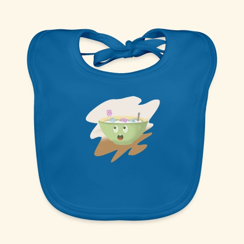 Milk party - Babero ecológico bebé